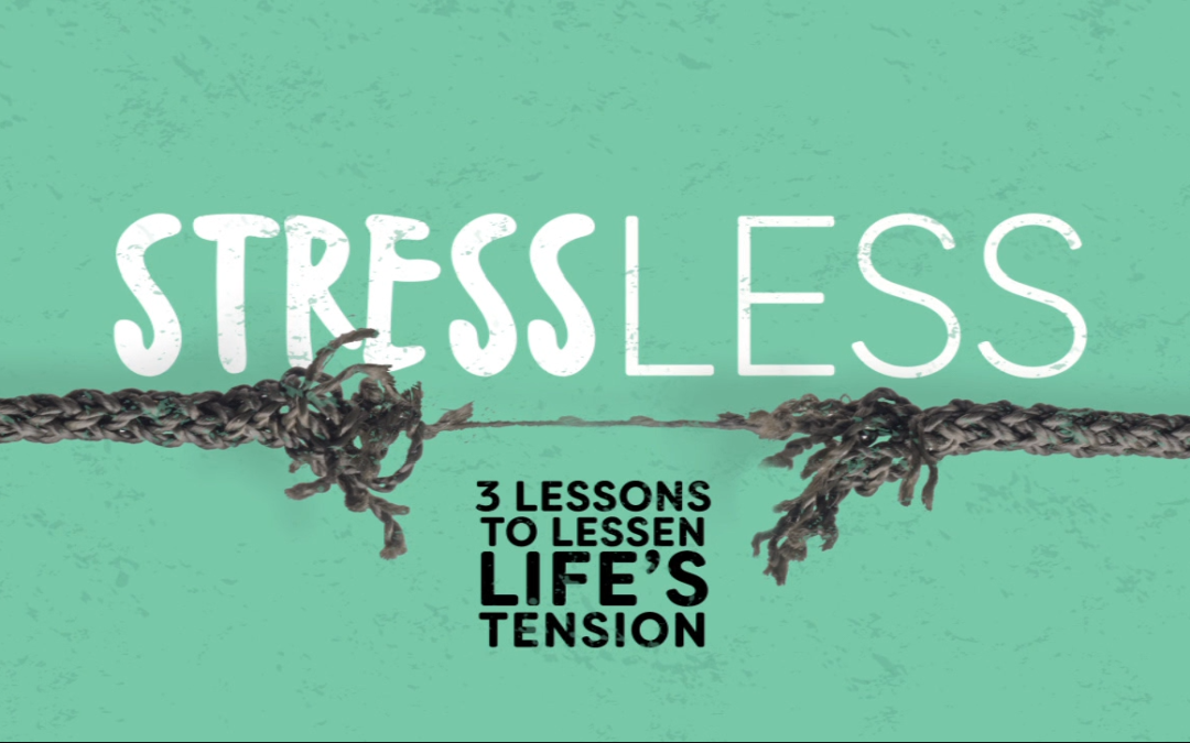 To Stress Less, Consider the Mansions